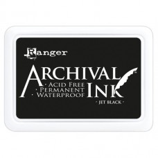 Archival inkpad Jet Black