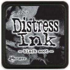 Distress inkpad Black Soot mini