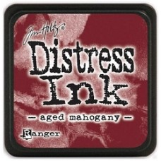 Distress inkpad Aged Mahogany mini