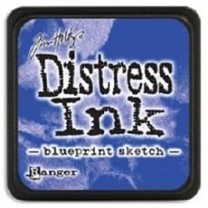 Distress inkpad Blueprint Sketch mini