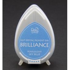 Brilliance dewdrop Pearlescent Sky Blue