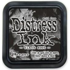 Distress inkpad Black Soot