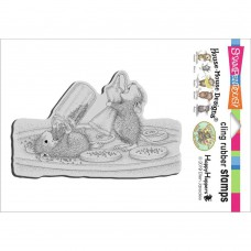 Clingstamp house mouse - Cookie sprinkles