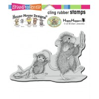 Clingstamp house mouse - Bedtime babies