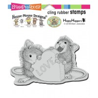 Clingstamp house mouse - Love treat