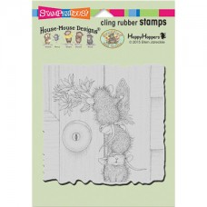 Clingstamp house mouse - Doorbell ringers