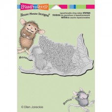 Clingstamp house mouse - Lilac aroma