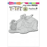 Clingstamp house mouse - Sleepy Surprise
