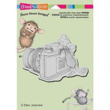 Clingstamp house mouse - Say Cheese