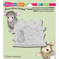 Clingstamp house mouse - Confetti Fun