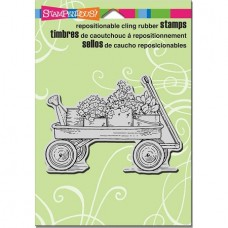 Clingstamp Garden Wagon