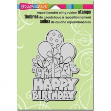 Clingstamp Chunky Birthday